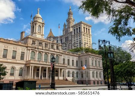 City Hall of NY