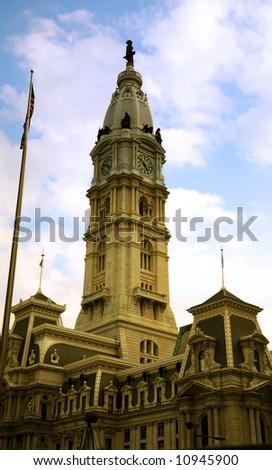 City Hall of Philadelphia Pennsylvania, William Penn building
