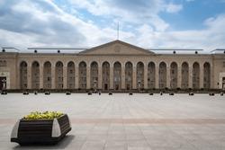 City Hall Square in Ganja, Azerbaijan