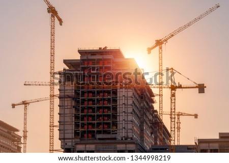 city hospital construction, istanbul, basaksehir Stok fotoğraf ©