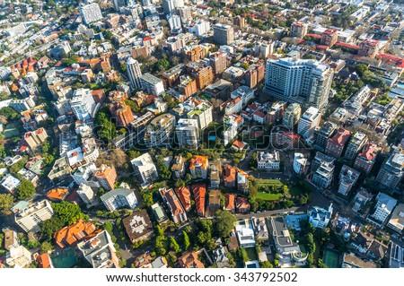 city neighbourhood  suburb in...