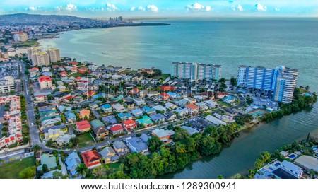 City Ocean Bay - Trinidad & Tobago Stock photo ©