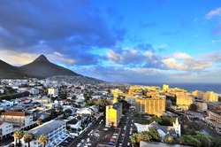 City of Cape Town, South Africa. Cape Town is the second largest city in South Africa and is the capital of the Western Cape Province.