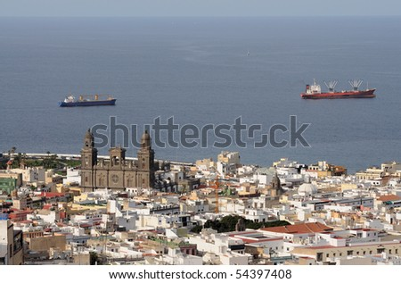 City of Las Palmas de Gran Canaria, Spain