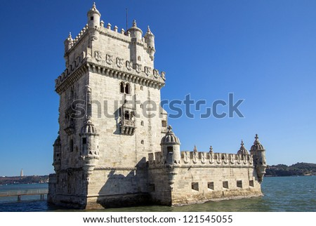 City of Lissabon, Tower of Belem