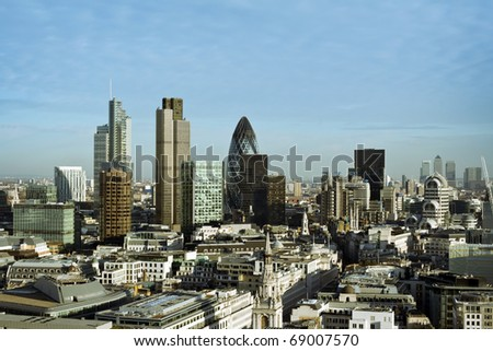 City of London one of the leading centres of global finance.