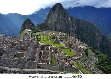 City of Machu Picchu, Peru