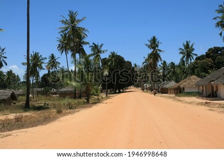 City of Palma, province of Cabo Delgado, Northern Mozambique. This city is currently being conquered by islamic militants. Photo stock ©