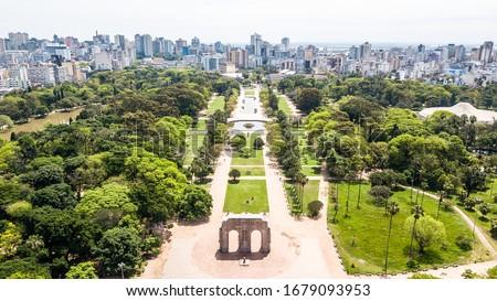 City of Porto Alegre capital of Rio Grande do Sul, Brazil Foto stock ©