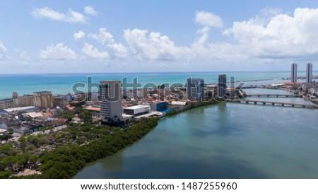 city of Recife - Pernambuco - Brazil Foto stock ©