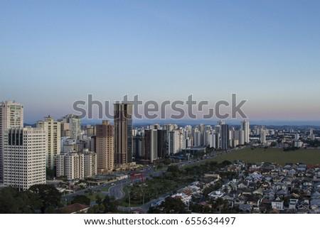 Shutterstock City of Sao Jose dos Campos, Sao Paulo, skyline