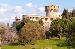 City of Volterra ancient Medici fortress