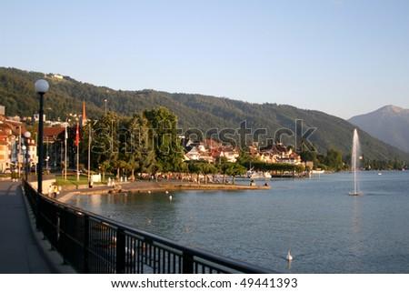City of Zug in Switzerland.
