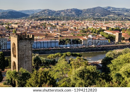 City panorama of Florence, Italy