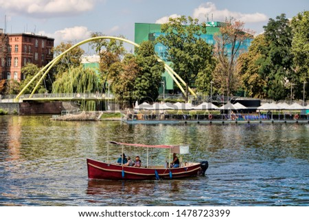 City panorama of Wroclaw in Poland #1478723399