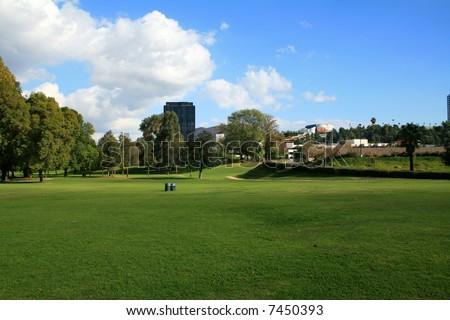 City Park - stock photo