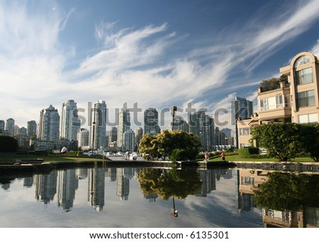 City Reflections - stock photo