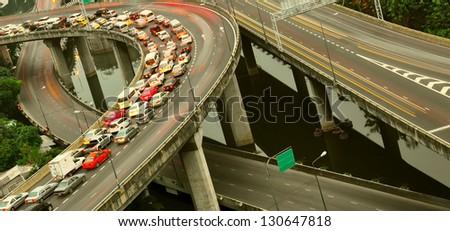 City road interchange