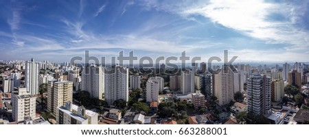 Shutterstock City Sao Jose dos Campos, Brazil, in the afternoon panorama photo