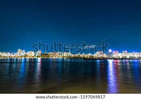 City scape night photography #1197069817