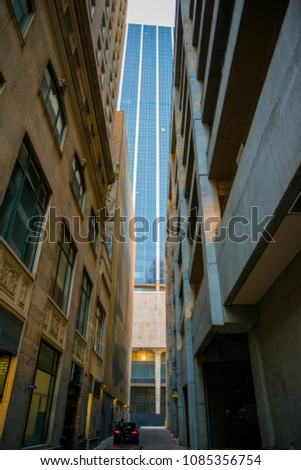 City Scape , Street Photography, Dallas #1085356754