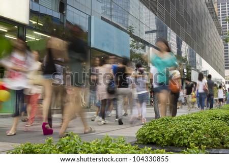 city shopping