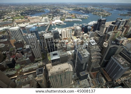 City Skyline at Sydney, Australia