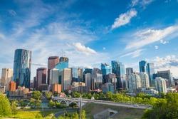 City skyline of Calgary, Alberta, Canada