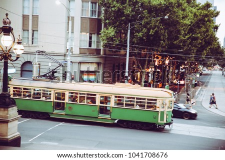 City Trams Old #1041708676