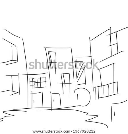 city urban landscape