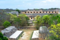 City Uxmal in Merida Yucatan.