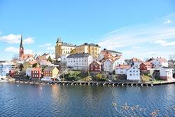 City veiw, Arendal of Norway