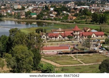 City view of Antsirabe
