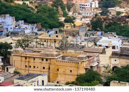 City view of Jaipur, a city in Rajasthan, India