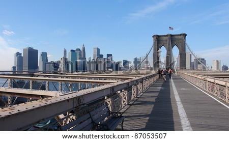city view of New York (USA)