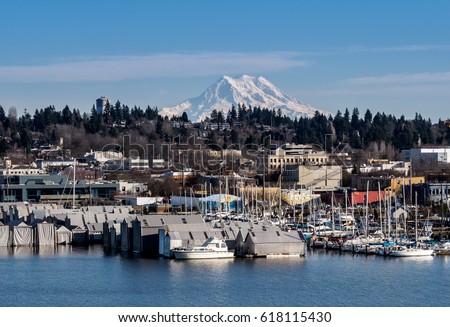 Photo of  City View of Olympia Washington