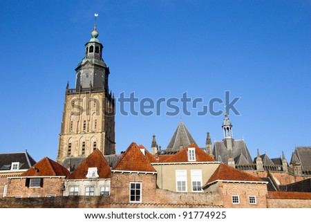 City view of Zutphen, The Netherlands