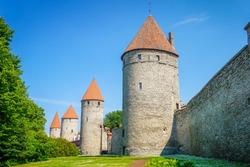 City Walls and Towers of Tallinn, Estonia