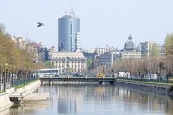 cityscape from Bucharest/ cityscape/