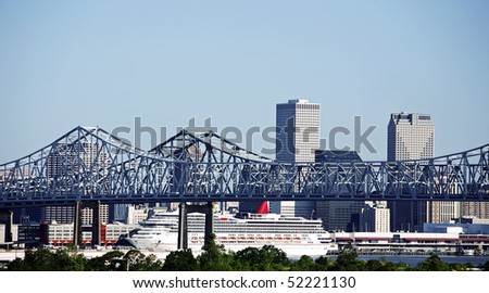 New Orleans Cityscape Cityscape of New Orleans
