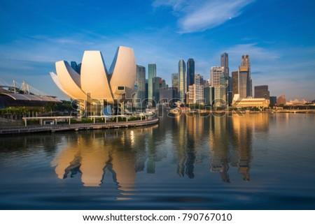Cityscape of  Singapore city #790767010