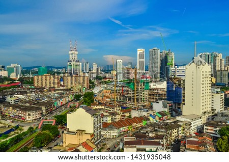 Cityscape of the modern capital of Malaysia