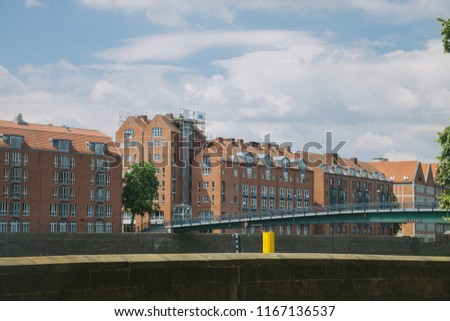 cityscape with bridge and buildings during daytime in Bonn, Germany  #1167136537