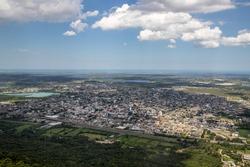 Cityview of Osorio, Rio Grande do Sul, Brazil