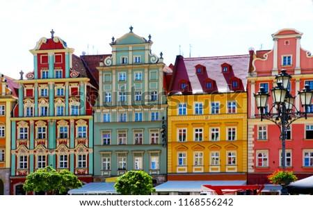 cityview old town Wrocław, Poland