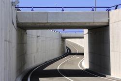 Civil engineering. Bridge structure