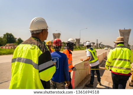 Civil Engineering  Construction working for building construction of Pier, in architecture pier is an upright support for a structure or superstructure such as an arch or bridge. #1361694518