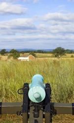 Civil War Cannon From Behind - Gettysburg Pennsylvania