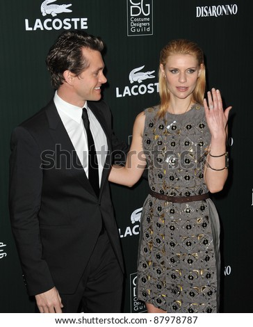 Claire Danes Husband on Claire Danes   Husband Hugh Dancy At The 13th Annual Costume Designers