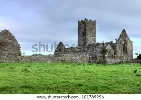 Clare Abbey Co. Clare Ireland.